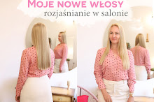 Pastelowy blond na długich włosach | Nowe włosy - sierpień 2019