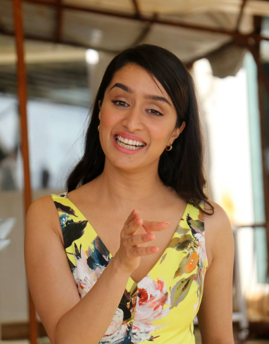 Actress Shraddha Kapoor Media Interactions Of Film Chhichhore