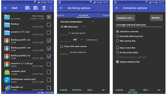 RAR for Android Premium 5 71 Apk - Mobile App Like
