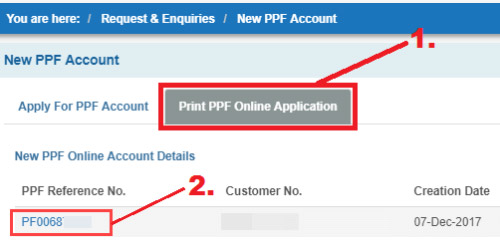 how to open ppf account online in sbi