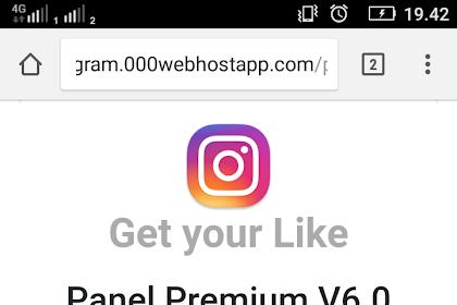Kumpulan Panel like instagram TANPA PASSWORD