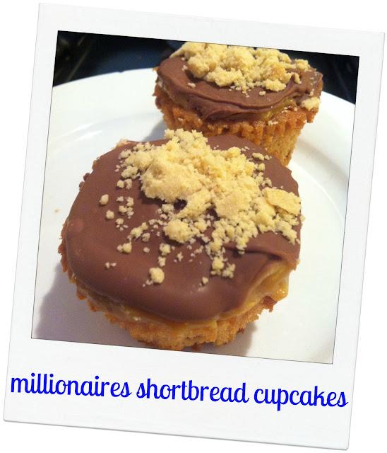 Millionaires Shortbread CupCakes