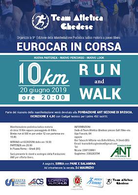 9^ EUROCAR IN CORSA<br>