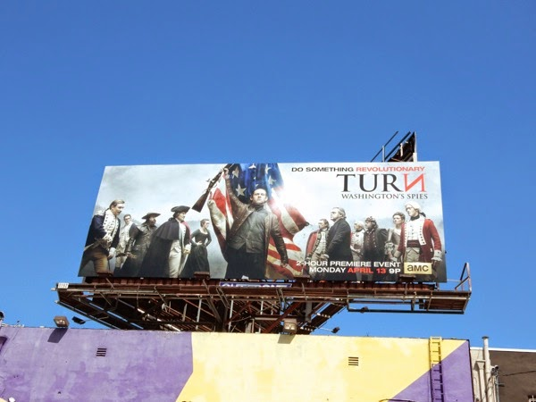 Turn Washington's Spies season 2 billboard