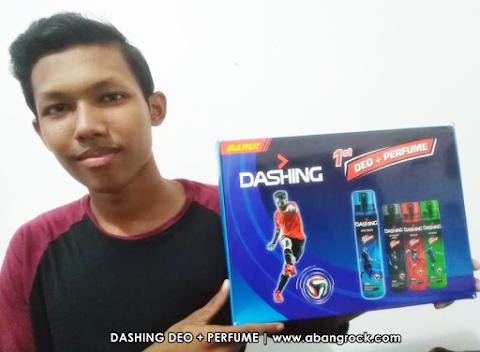 DASHING DEO + PERFUME BODY SPRAY - Wangian Menarik Untuk Lelaki Aktif