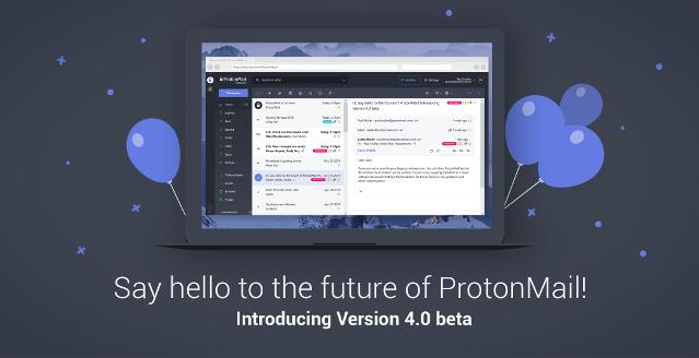 Versão 4.0 do ProtonMail é lançada oficialmente - Confira as novidades