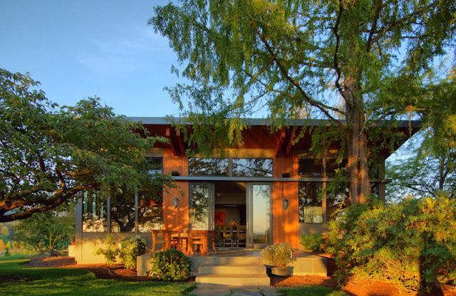 Prefabricated home, Portland, Oregon