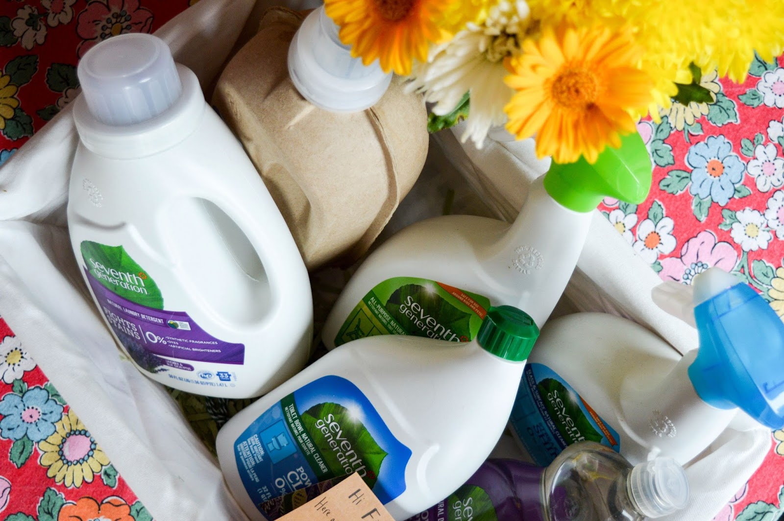 Eco-Friendly Cleaning with Seventh Generation | Review & Giveaway ♥