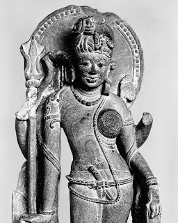 अर्धनारीश्वर - शिव और शक्ति का संयुक्त रूप   Ardhanarishvara - The combination of Shiva & Shakti