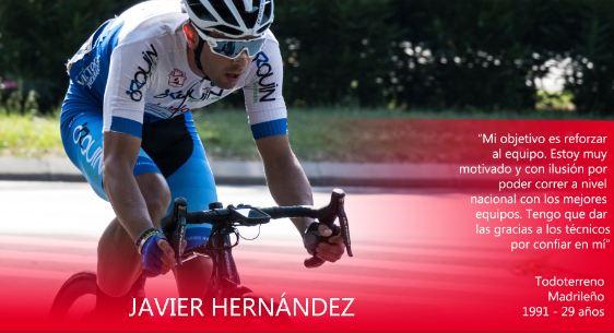 Javier Hernández competirá en el Tenerife BikePoint Pizzería Española en 2021