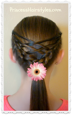 How To Make Woven Twist Ponytail Hairstyle, Checkout Tutorial