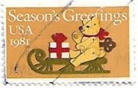 Selo Ursinho de Natal