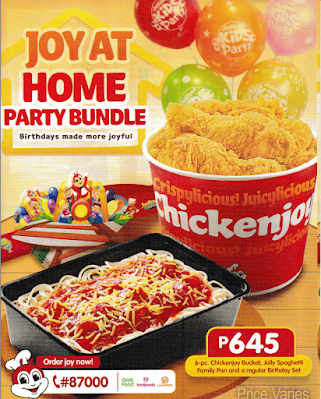 Joy at Home Bundle for Jollibee Party for 2020