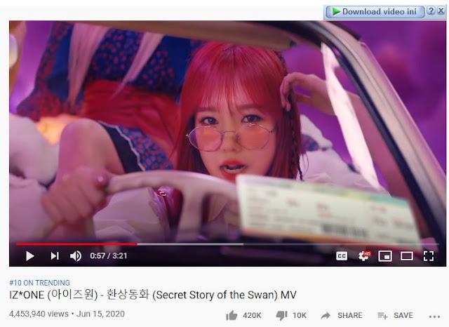 download lagu izone secret story of the swan