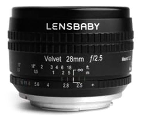 Lensbaby Velvet 28mm f/2.5