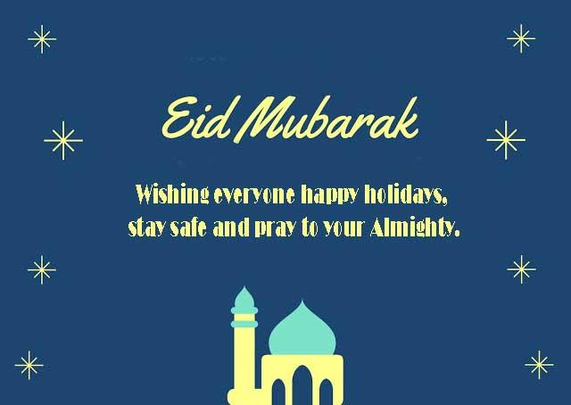 Happy Eid In Advance