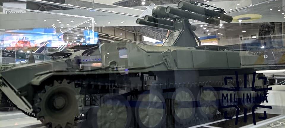 КБ Луч демонструє макет модернізованого ЗРК Стріла-10