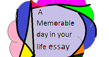your memorable day