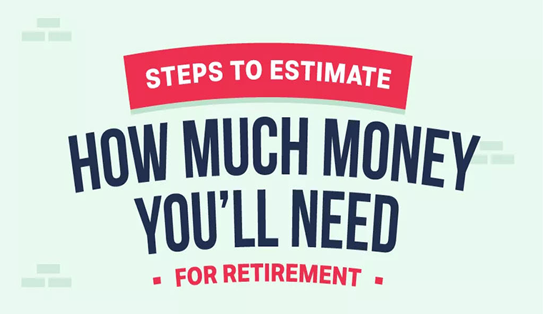 Steps to Estimate How Much Money You'll Need For Retirement #infographic