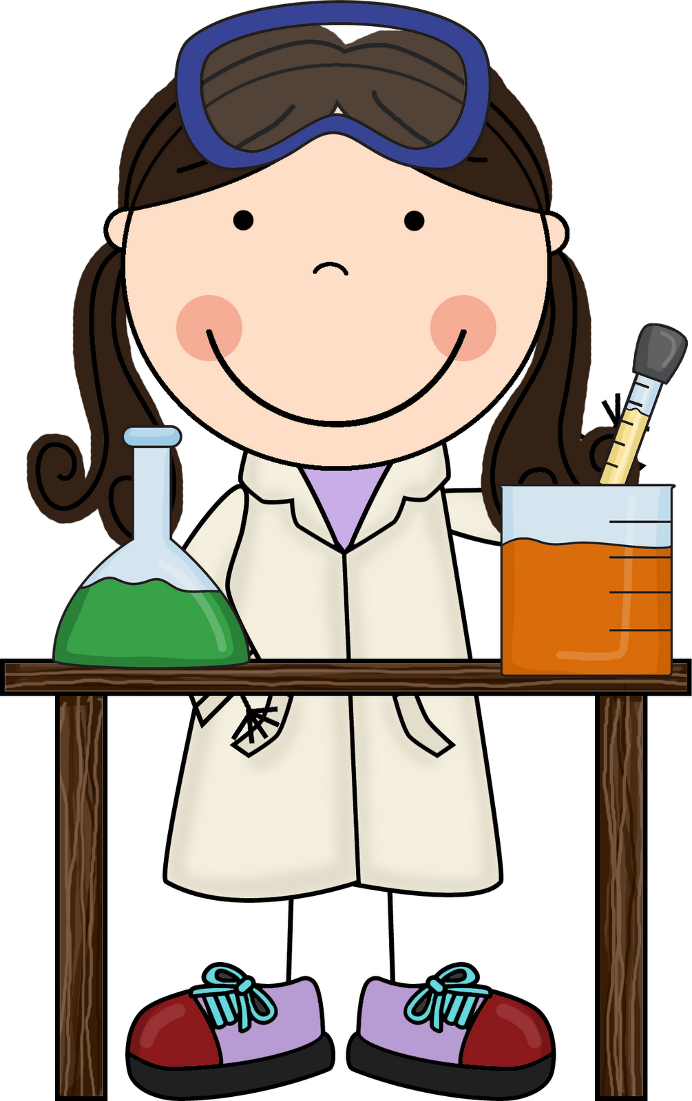 science hypothesis night clipart lab miss nerd colors gearing
