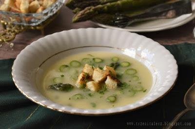 Zupa ze szparagami – kuchnia galicyjska