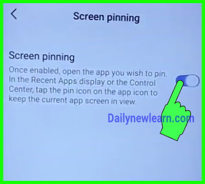 Use of Screen Pinning: How to pin and Unpin screen in Android & iPhone