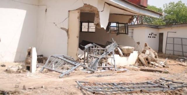 Kwara govt demolishes Saraki's house