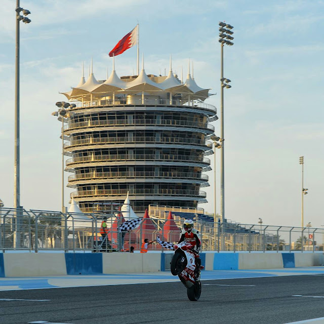 Mashel Al Naimi with another brace at  BSBK Round 2
