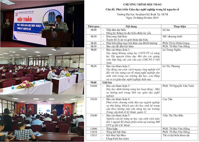 Hội thảo 'Phát triển giáo dục nghề nghiệp trong kỷ nguyên số'