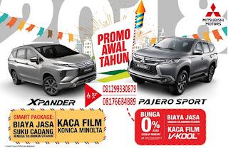 Promo Dealer Mitsubishi Srikandi 2018 XPander, Pajero