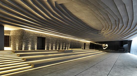 Desain interior masjid minimalis