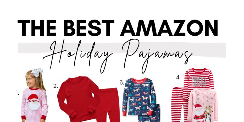 The Best Kid's Holiday Pajamas on Amazon