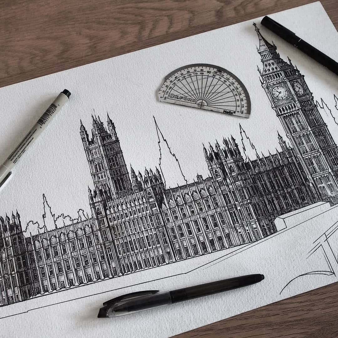 06-Palace-of-Westminster-Liam-Hipple-Complexity-in-Architectural-Drawings-www-designstack-co