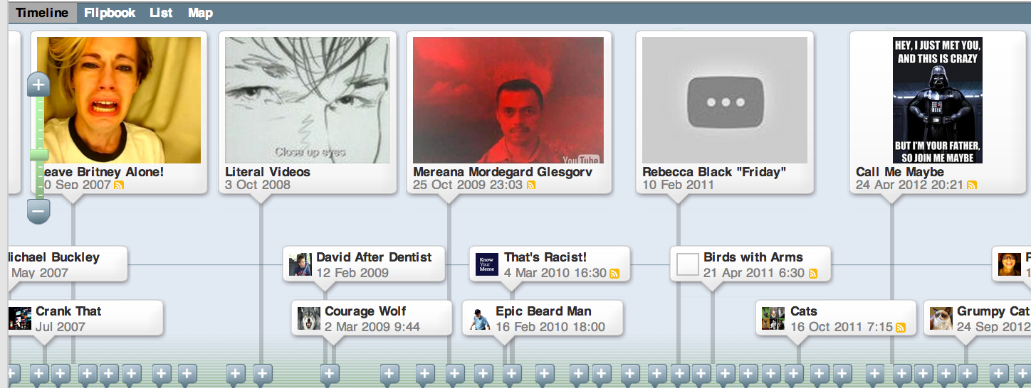 15 great timeline creation web tools and ipad apps for