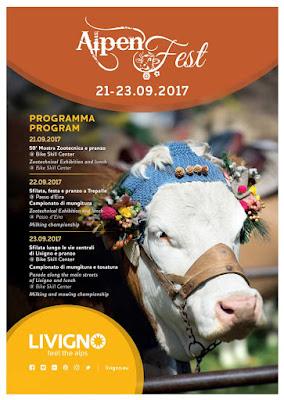 Alpen Fest 21-22-23 settembre Livigno
