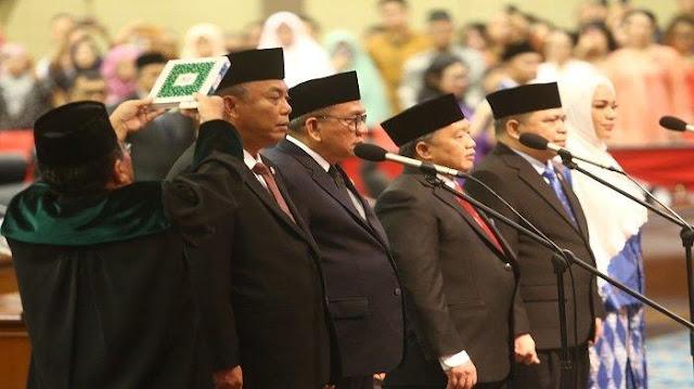 Politisi PDIP Prasetio Edi Resmi Menjabat Ketua DPRD DKI Jakarta Periode 2019-2024