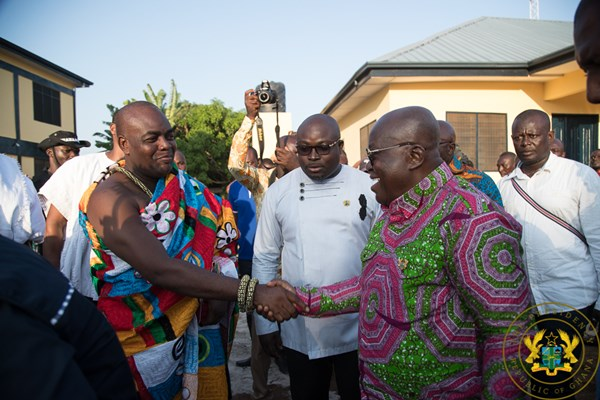 """Mahama's Record Bankrupt, Has No Policies For The Future"" – President Akufo-Addo"