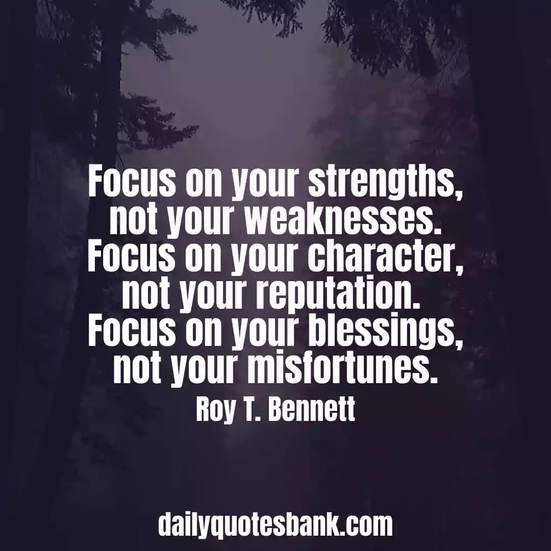 Focus Quotes On Success That Will Increase Your Concentration