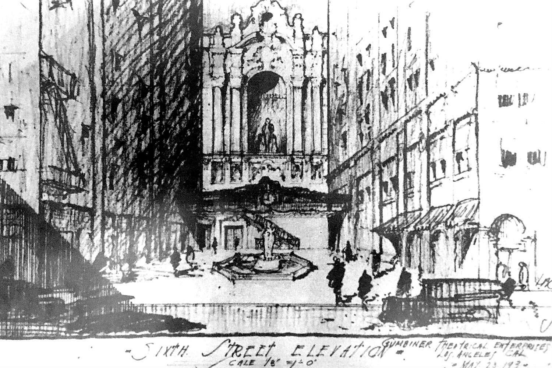 Los Angeles Theatres Los Angeles Theatre History