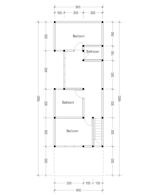 2nd Floor Plan for Plan c-14
