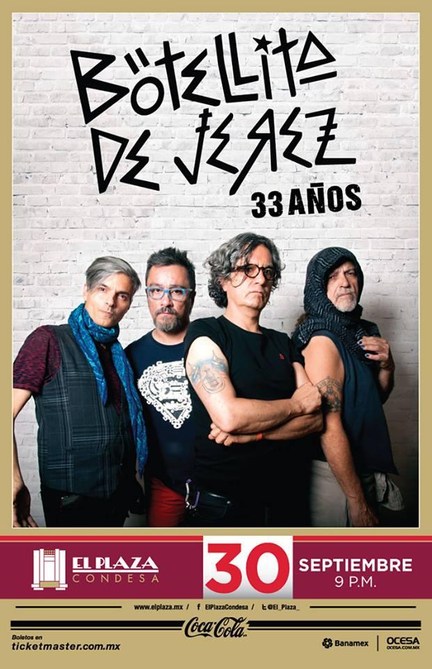 Botellita de Jerez festejará sus 33 años en El Plaza