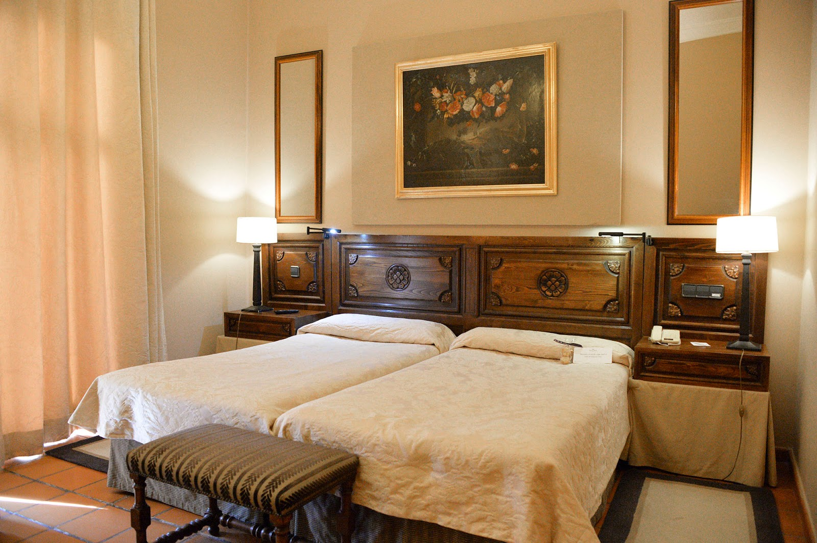 lerma burgos spain castile leon parador hotel room ducal palace beautiful village