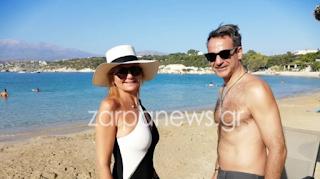Στα Χανιά ο Κυριάκος Μητσοτάκης μαζί με την σύζυγό του Μαρέβα - Δείτε φωτογραφίες