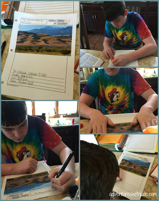 creating pages for Great Sand Dunes National Park