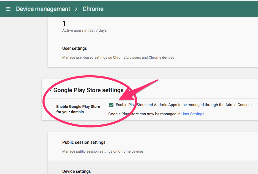 G Suite/Chromebook Blog: [About Supporting Google Play Store