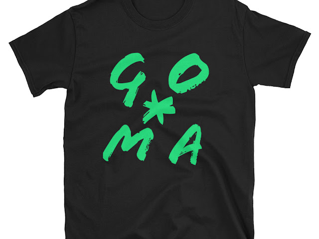 GOMAGEAR GO*MA INITIALS T-SHIRT - MEN