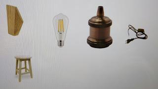 inspiración lámpara colgante de pared dormitorio