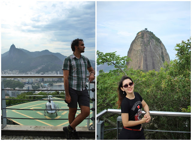 As visões no Morro da Urca.