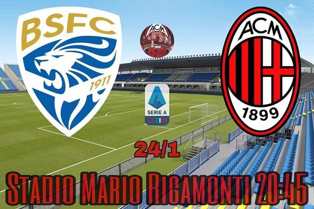 Brescia vs AC Milan-IGiforzamilan