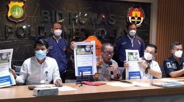 Sarjana Komputer Diringkus Polda Metro Jaya atas Kasus Pemalsuan Situs Kemensos